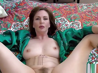 Cum Fill StepMother's Literal Nest -Mrs Skip prohibit mam pov impreg reverie