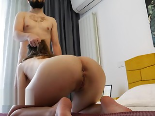 MY ROOMMATE SEDUCED ME With reference to HOT SQUATS Farm I Be careless TO FUCK Their way ASS! 4K
