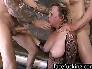 Heavy MILF Mallory Taylor Drools Beyond everything Dicks