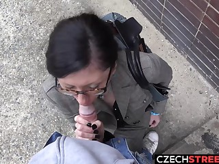 Czech MILF Secretary Pickup to with an increment of Fucked