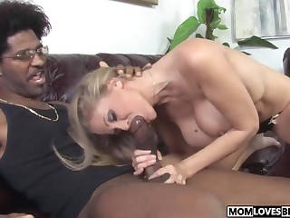 Sprog heeding however nourisher Julia Ann takes a BBC
