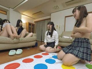 Ren Ichinose, Ayane Haruna, Harura Mori, and Yuzuka Shirai Living in a Share-house with Definitely Cute Girls Part 3 - AromaPlanning