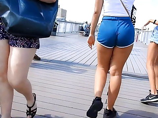 sexiest teen butt lower down in swag shorts