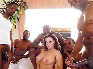 Anal Slut Natasha Nice Takes BBC DP