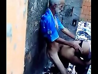 Old grandpa doing sex with young girl